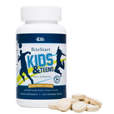 RiteStart for Kids and Teens - 120 chewable tablets